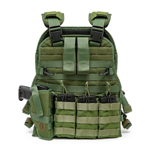 Airsoft Molle Tactical Vest - Full Package