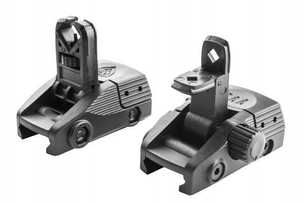 Low Profile Rear & Front Flip-Up Sights