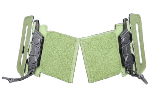 Side quick release buckles for IDF general supplies