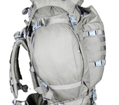 InField 90 liter backpack - Side