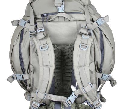 InField 90 liter backpack - Back